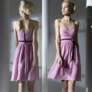 ANSD8063 Free Shipping New Bridesmaid Wedding Gown Prom Ball Evening Dress Size 6-8-10-12-14
