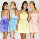 ANSD8070  Free Shipping New Bridesmaid Wedding Gown Prom Ball Evening Dress Size 6-8-10-12-14
