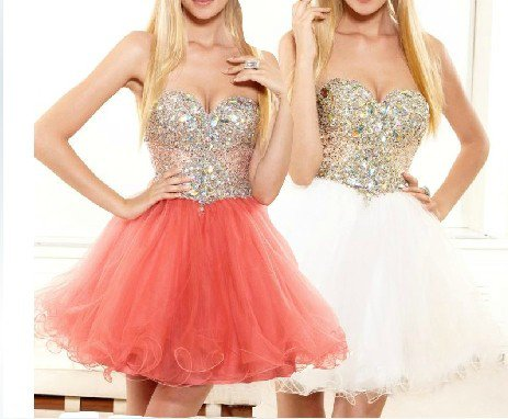 ANFT1051  Free Shipping New Bridesmaid Wedding Gown Prom Ball Evening Dress Size 6-8-10-12-14