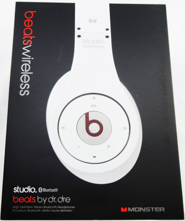 $140 Dr dre headphone Studio Wireless 1.0 Beats by Dr. Dre -  White Free shipping