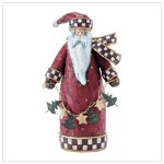 Folk Art Santa Figure