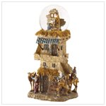 Nativity Deluxe Snowglobe