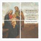 Patchwork Nativity Mural