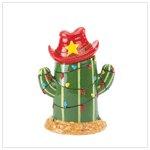Christmas Cactus Cookie Jar