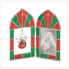 Christmas Stained Glass Photo Frame