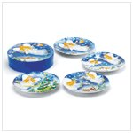 Christmas Angel Dessert Plates
