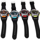 Oreex Waterproof Rubber Band Double Movt Watches