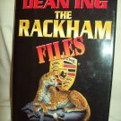 The Rackham Files. Dean Ing, author. First Printing. Near Fine/Near Fine