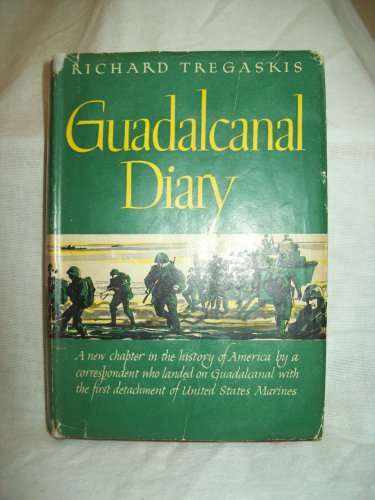 Author Vg >> Guadalcanal Diary Richard Tregaskis Author Bc Edition Vg Vg