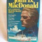 Five Complete Travis McGee Novels. John D. MacDonald, author. Avenel Books Edition. VG+/VG+