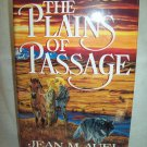 The Plains Of Passage. Jean M. Auel, author. 1st Edition, 1st Printing. NF/F