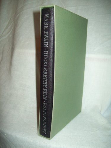Huckleberry Finn. Mark Twain, author. Folio Society Boxed Edition. Near Fine