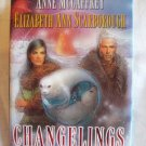 Changelings. McCaffrey/Scarborough, authors. 1st Edition, 1st Printing. Signed. NF/NF
