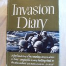 Invasion Diary. Richard Tregaskis, author. 1st Edition, 1st Printing. NF/VG