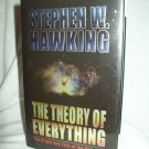 The Theory Of Everything. Stephen W. Hawking, author. NF/NF