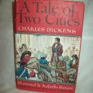 A Tale Of Two Cities. Charles Dickens, author. Illustrated Junior Library. NF/VG+