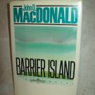 Barrier Island. John D. MacDonald, author. 1st Edition, 1st Printing. NF/NF