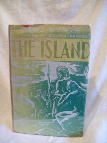 The Island. Claire Spencer, author. 1st Edition, 1st Printing. VG+/VG-