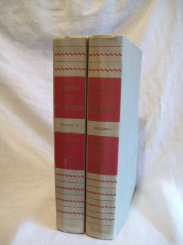 Stories To Remember. Costain & Beecroft, editors. 2 Volume Set. VG+
