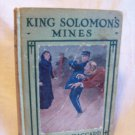King Solomon's Mines. H. Rider Haggard, author. Arthur Westbrook A & L Edition. VG-