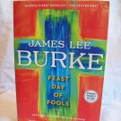 Feast Day Of Fools. James Lee Burke, author. PPB. Advance Reader's Edition. NF