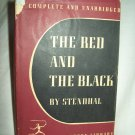 The Red And The Black. Stendhal, author. Modern Library Edition. VG/VG-