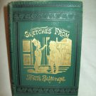 Sketches From Texas Siftings. Alexander Sweet & John Knox, authors. Illust. 1st Ed., 1st Prnt. VG