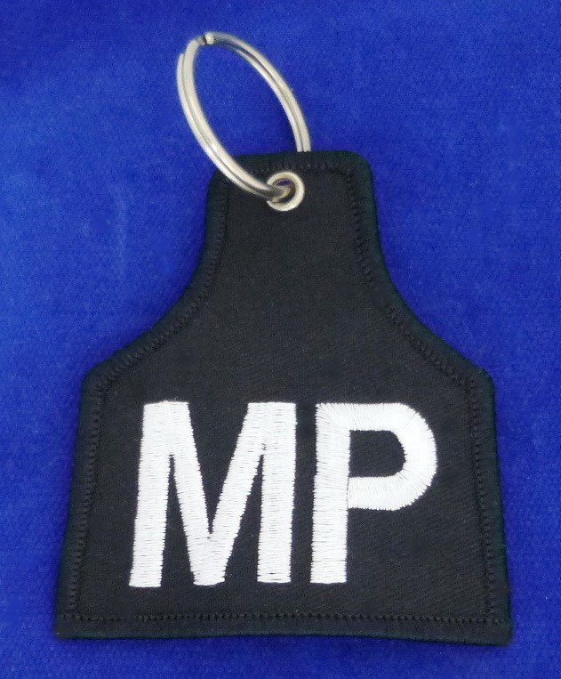MP Armband as Key Ring # Military Police # Brassard # Key Chain