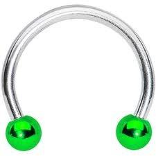 Green Crc Steel Ball  14g3/8