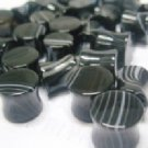 Black/White Stone Plug 00g