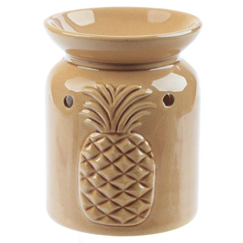 Eden Aroma Set - Ceramic Pineapple Oil Burner