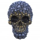 Metallic Skull Ornament