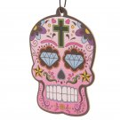 Cherry Fragranced Candy Skull Day of the Dead Air Freshener
