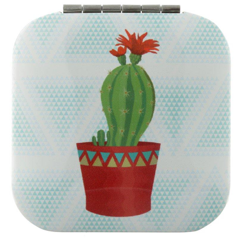Compact Mirror - Cactus