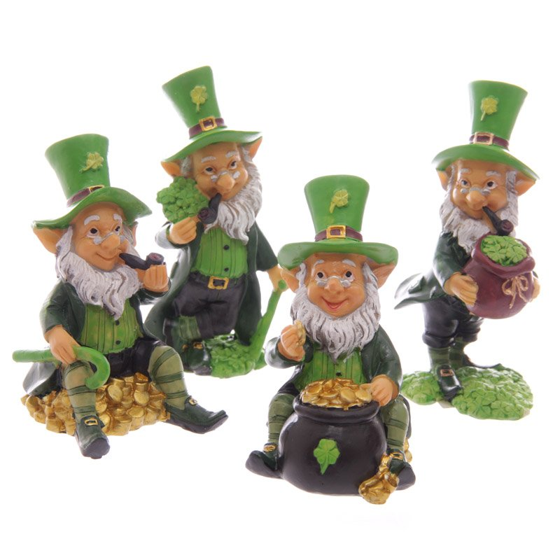 Mini Leprechaun Figurine (Assorted)