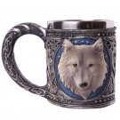 Decorative Fantasy Wolf Tankard