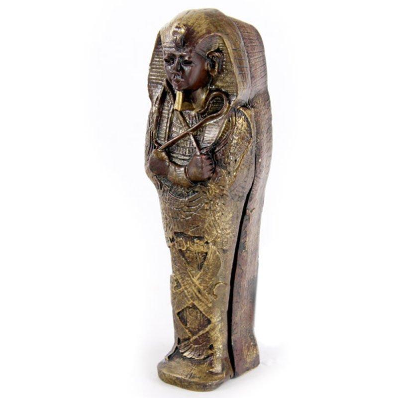 Mini Egyptian Sarcophagus with Mummy