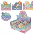 Cute Mini Memo Pad Pack of 4 - Mermaid Design