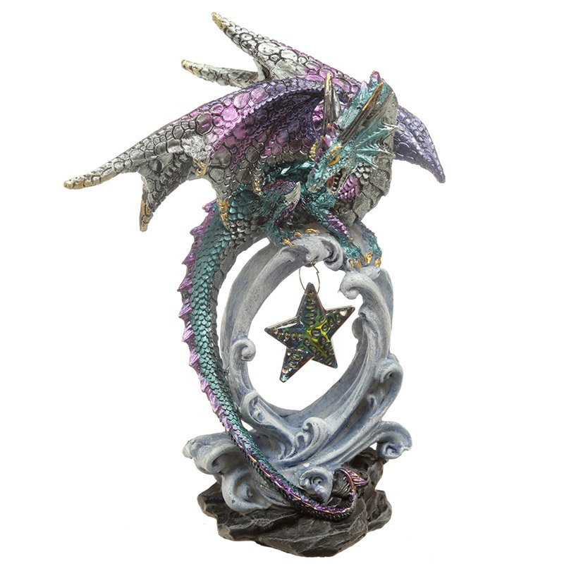 Wish Upon a Star Dragon Figurine