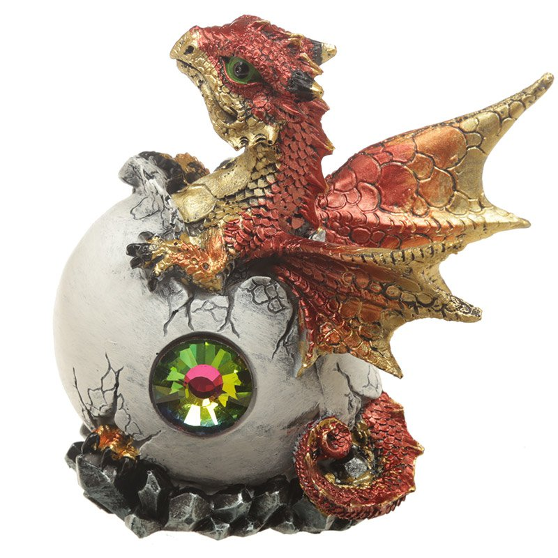 Crystal Birth Dragon Figurine