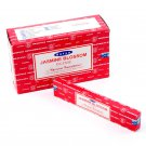 Satya Nag Champa Incense Sticks - Jasmine Blossom (12 Packs)