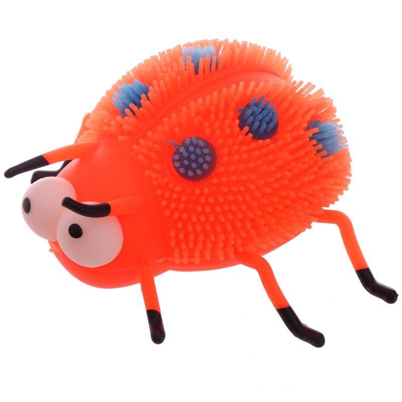Kids Light Up Squidgy Ladybird Puff Pet