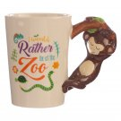 Collectable Shaped Handle Mug - Monkey
