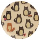 Bamboo Eco Friendly Cat Plate