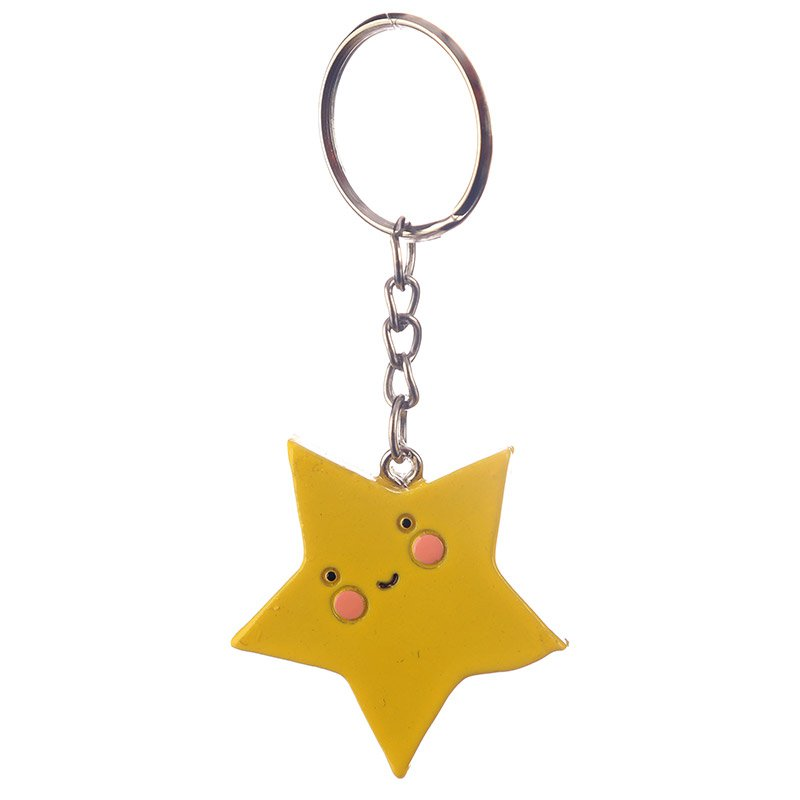 Fun Collectable Kawaii Star Keyring