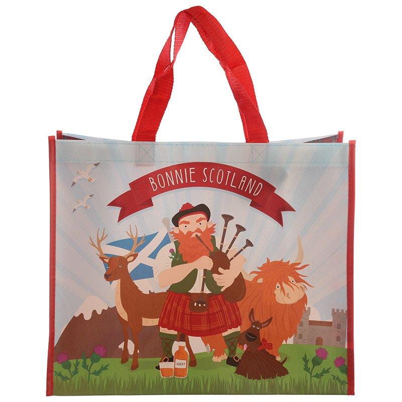 Scottish Piper Shopping Bag