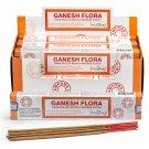 Stamford Masala Incense Sticks - Ganesh Flora (12 Packs)