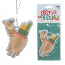 Apple Cinnamon Festive Friends Christmas Alpaca Air Freshener