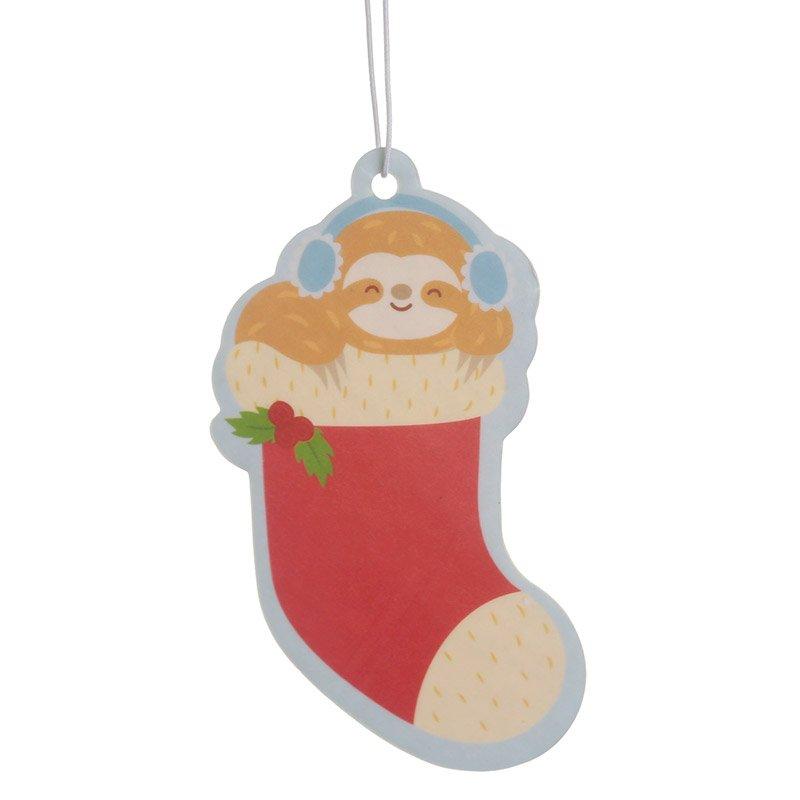 Spiced Orange Christmas Sloth Air Freshener