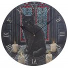 Decorative Sacred Circle Magic Cat Lisa Parker Wall Clock